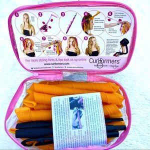CURLFORMERS Hair Spiral Curler Extra Long Hair Kit